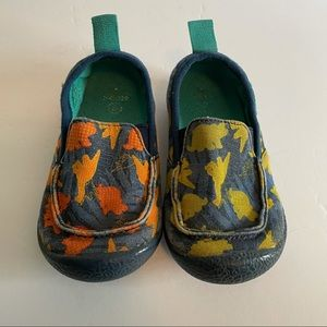 Chooze Boy's Dinosaur Loafers Slip-on